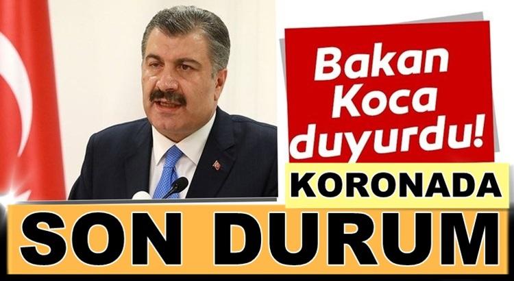 Koronavirüs Türkiye 10 Ağustos bilançosunu Bakan Koca açıkladı