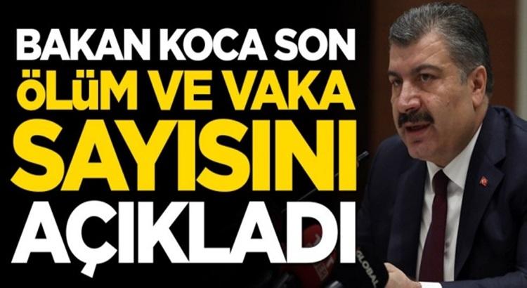Koronavirüs Türkiye 12 Ağustos verilerini Bakan Fahrettin Koca açıkladı
