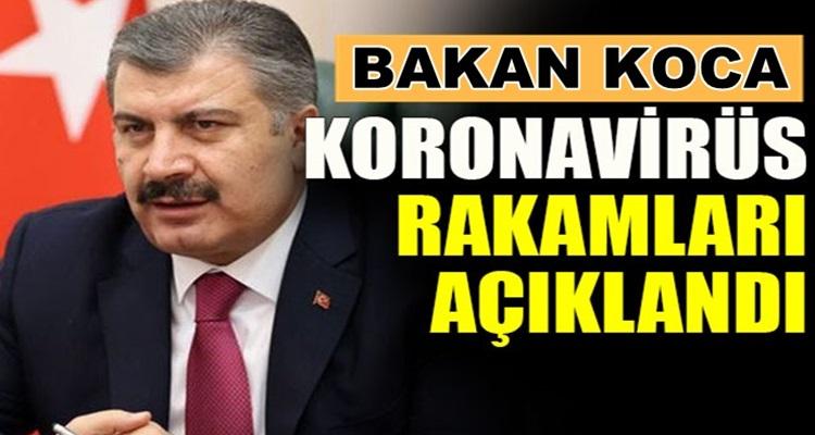 Koronavirüs Türkiye 16 Ağustos verilerini Bakan Fahrettin Koca duyurdu