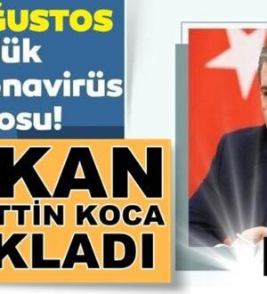 Koronavirüs Türkiye 23 Ağustos verileni Bakan Fahrettin Koca Açıkladı