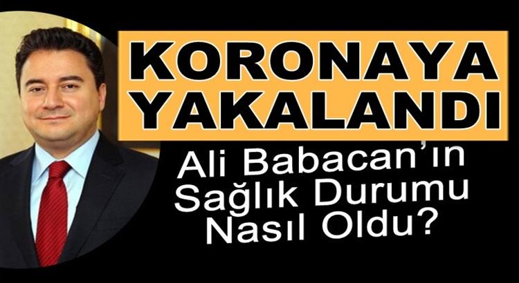 Koronavirüse yakalanan Ali Babacan'ın hakkında yeni haber