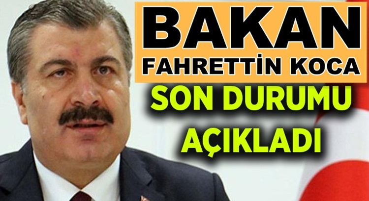Koronavürüs 26 Ağustos verilerini Bakan Fahrettin Koca duyurdu