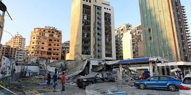 Lübna'daki patlama sonrası bakan son bilançoyu paylaştı
