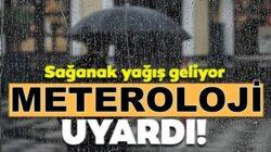 Meteorolojiden Doğu Karadeniz için sağanak yağış uyarısı