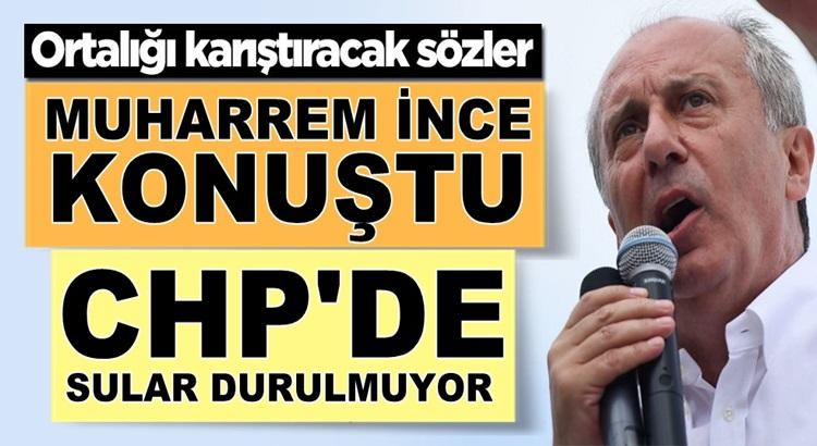 Muharrem İnce yeni parti hakında konuştu CHP Karıştı