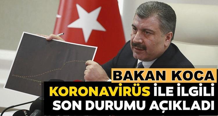 Sağlık Bakanı Fahrettin Koca 18 Ağustos Korona verilerini açıkladı