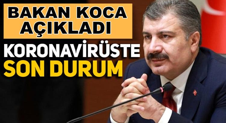 Sağlık Bakanı Fahrettin Koca 7 Ağustos Koronavirüs Tablosunu Açıkladı