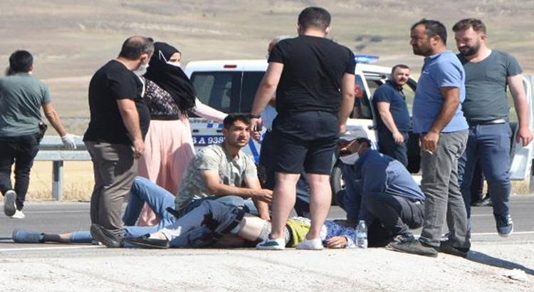 Sivas'ta polis memuru uzman çavuşla tartıştı ve vurdu