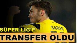 Süper lig takımlarından Antalyaspor Nuri Şahin'i transfer etti