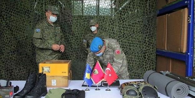 Türkiye'den Kosova ordusuna 743 bin dolarlık hibe