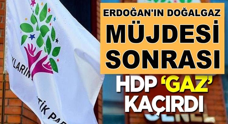 Türkiye'nin doğalgaz keşfi sonrası HDP'li Garo Paylan gaz kaçırdı