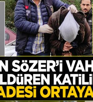 Aylin Sözer'i katleden Kemal Delbe'nin ilk ifadesi ortaya çıktı
