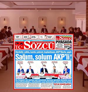 CHP'den beslenen Sözcü gazetesinden bir yalan haber daha