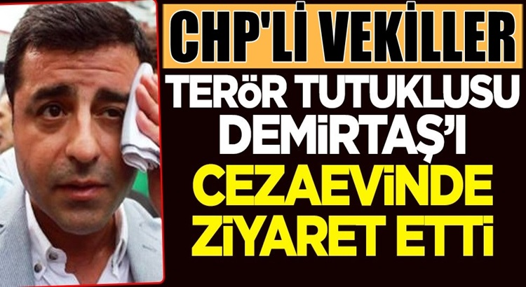 CHP'li vekiller HDP'li Selahattin Demirtaş'ı Edirne cezaevinde ziyaret etti