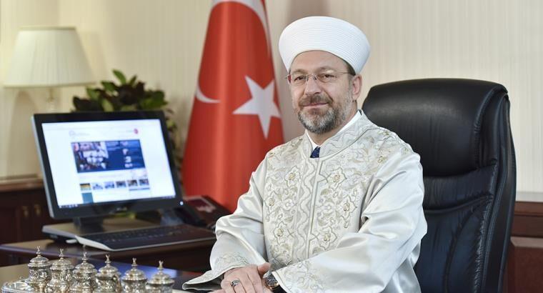 Diyanet İşleri Başkanı Erbaş'tan Aylin Sözer açıklaması geldi