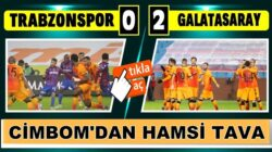 Galatasaray, Trabzonspor'u Süper Lig'de yenerek liderliğe yükseldi