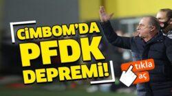Galatasaray'da Fatih Terim'e PFDK'dan 5 maç men cezası
