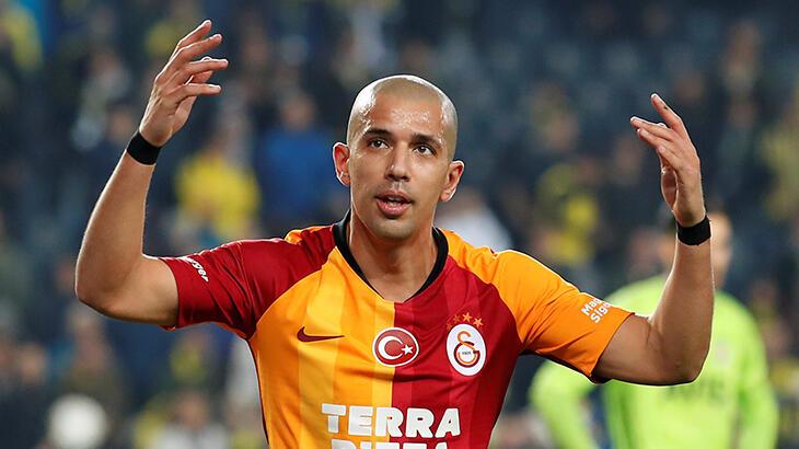 Galatasaray'dan Sofiane Feghouli hakkında açıklama geldi