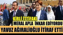 İyi Parti'de Meral Akşener'in inkar ettiğini Yavuz Ağıralioğlu itiraf etti