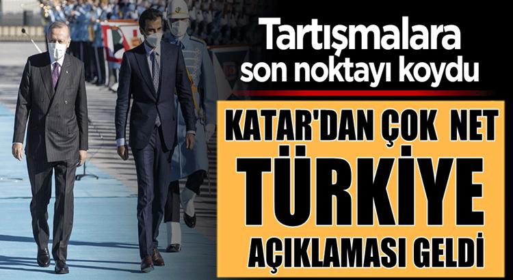 Katar'dan ses getirecek Türkiye açıklaması: Yatırımlara devam edeceğiz