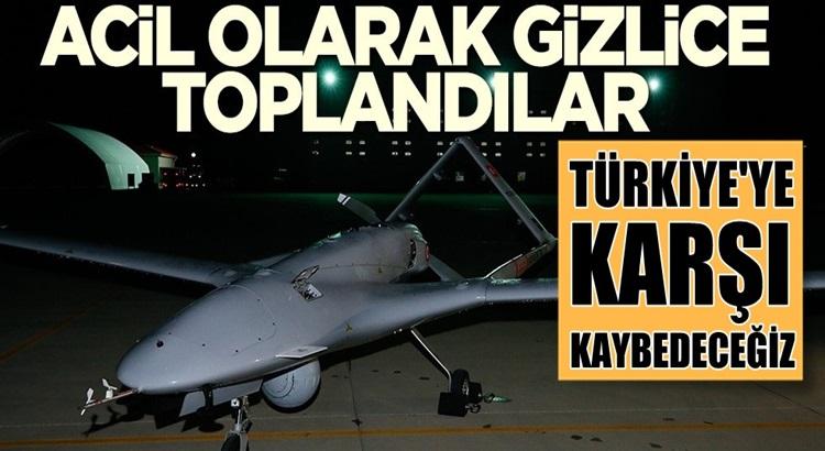Nato'da Türk İHA'larına karşı acil kodlu gizli toplantı yaptılar!