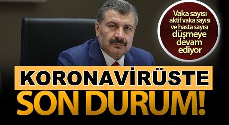 Türkiye'de 26 Aralık koronavirüs tablosunu Fahrettin Koca açıkladı