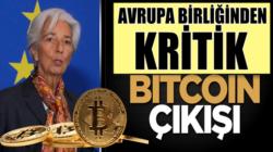 Abrupa Birliği Mekez Bankası Başkanı Christine Lagarde kritik Bitcoin çıkışı