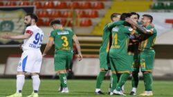 Alanyaspor kendi sahasında BB Erzurumspor'u Kupada saf dışı etti