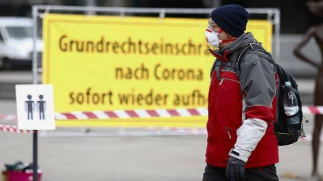 Almanya'da koronavirüsten 445 kişi daha hayatını kaybetti