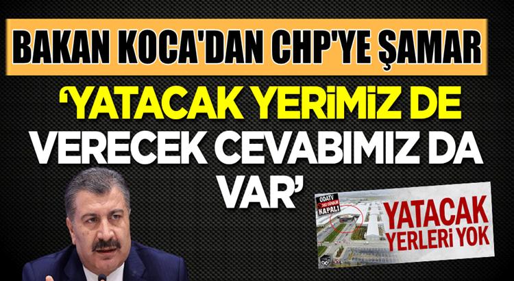 Bakan Fahrettin Koca'dan CHP'li Mustafa Adıgüzel'a tokat gibi yanıt