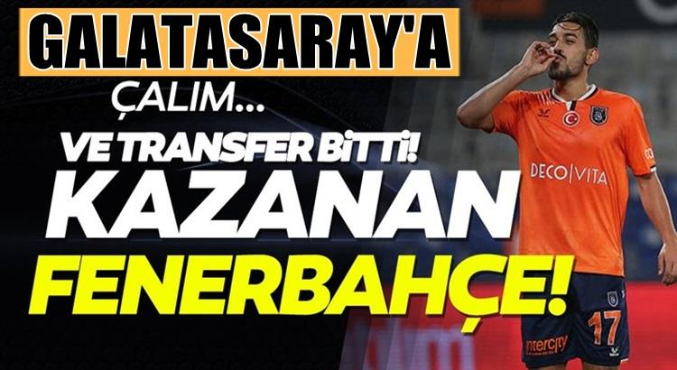 Başakşehir'li İrfan Can Kahveci'yi Galatasaray istedi Fenerbahçe aldı