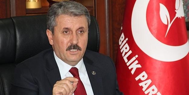 BBP Lideri Mustafa Destici Cumhur İttifakı ile devam edeceğiz