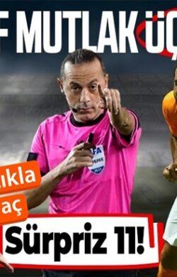 Beşiktaş-Galatasaray derbisinin muhtemel ilk 11'i