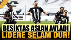 Beşiktaş Vodofone Arena'da Galatasaray'ı net skorla mağlup etti