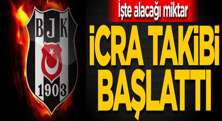 Beşiktaş'tan Fenerbahçe'ye giden o futbolcu İcra takibi başlattı