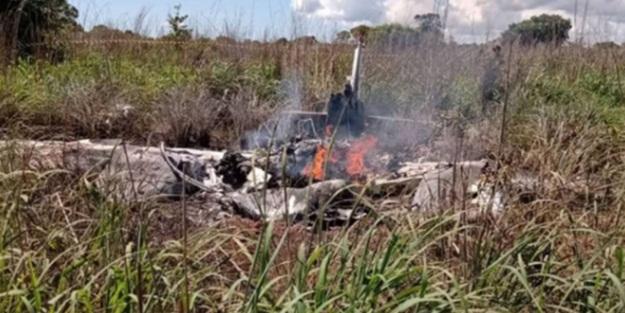 Brezilya'da  uçak düştü! Kulüp Başkanı ve 4 futbolcu öldü