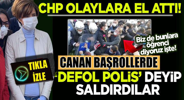 Canan Kaftancıoğlu destekli Boğaziçi Üniversitesi'nde olaylar çıktı