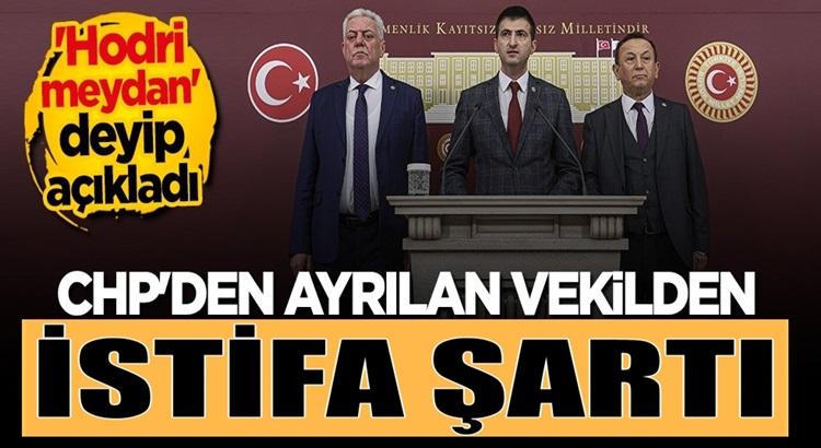 CHP'den istifa eden Mehmet Ali Çelebi vekillikten istifa edecekmi?
