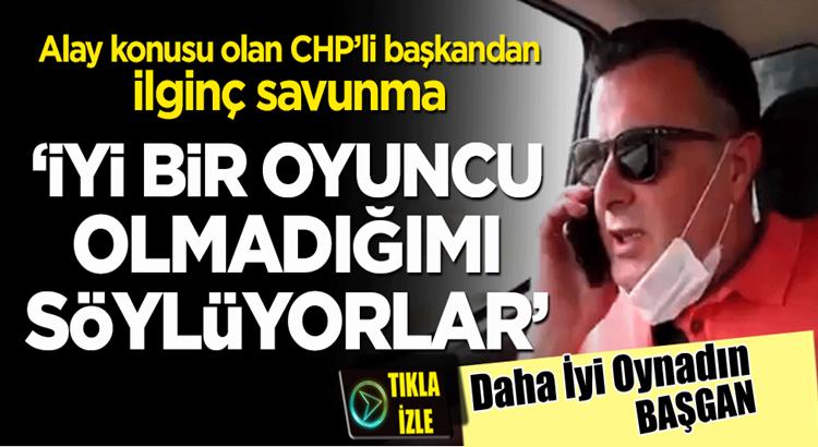 CHP'li Alaşehir Belediye Başkanı Ahmet Öküzcüoğlu ilginç savunma