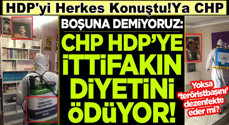 CHP'li Esenyurt belediyesi HDP ile ittifakın diyetini ödüyor