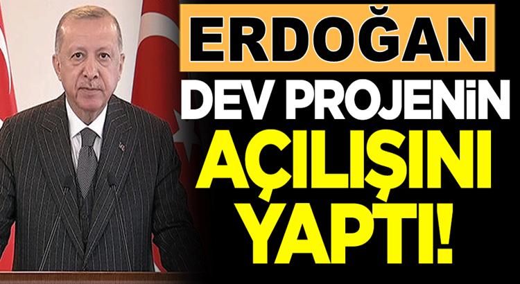Cumhurbaşkanı Erdoğan Diyarbakır'daki dev yatırımların açılışını yaptı