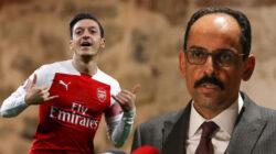 Cumhurbaşkanlığı Sözcüsü İbrahim Kalın'dan Mesut Özil paylaşımı