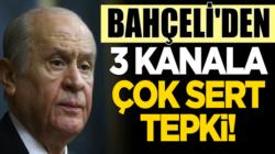 Devlet Bahçeli'den Haber Türk, Krt Tv ve Halk Tv'ye çok sert tepki