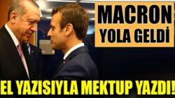 Dışişleri Bakanı Mevlüt Çavuşoğlu duyurdu: Macron,Erdoğan'a mektup yazdı