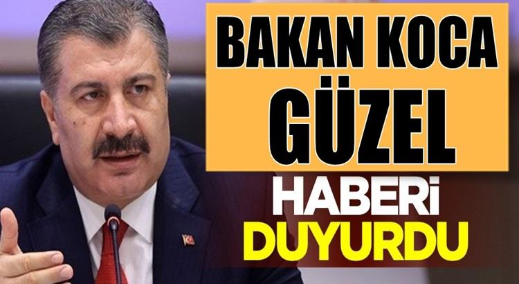 Fahrettin Koca'dan İstanbul, İzmir, Ankara ve Bursa için güzel haber