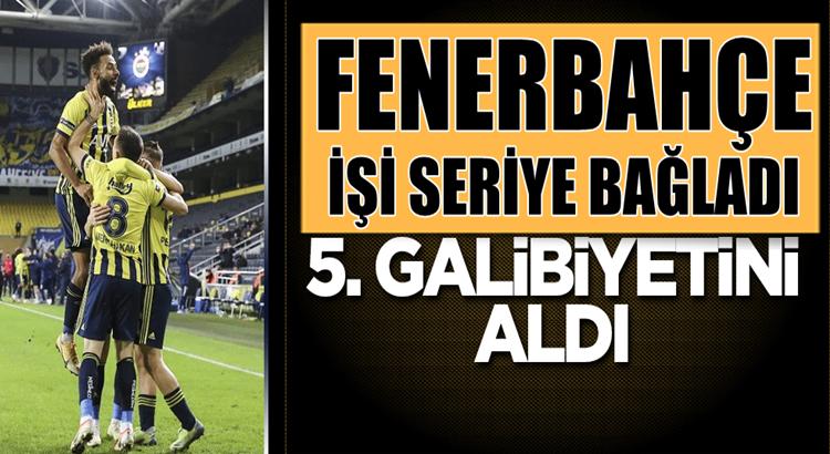 Fenerbahçe Ankaragücü'nü yenerek Süper Lig'de Seriye devam dedi