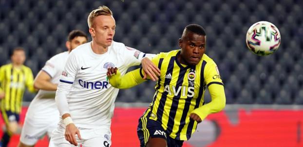 Fenerbahçe Kadıköy'de Türkiye Kupasında Kasımpaşa'yı tek golle geçti