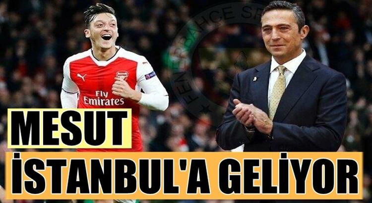 Fenerbahçe Mesut Özil'i bu gece yarısı istanbul'a getiriyor