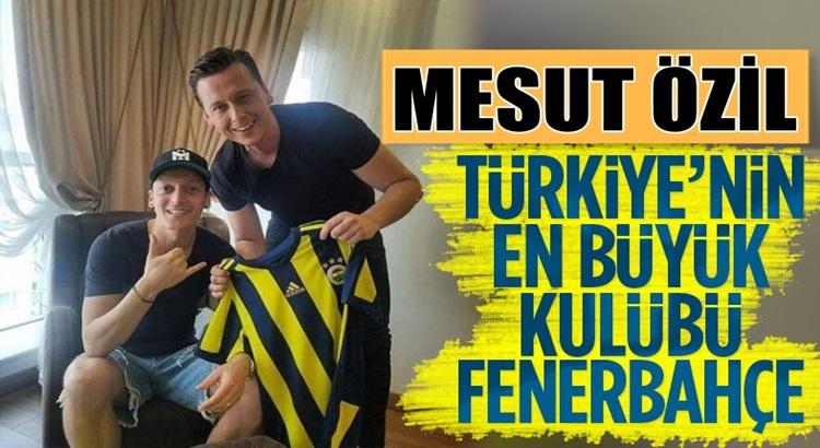 Fenerbahçe'ye transferi an meselesi olan Mesut Özil'den Kadıköy cevabı