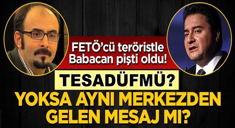 Fetöcü hain Emre Uslu İle Ali Babacan'dan Twitter'dan aynı mesaj